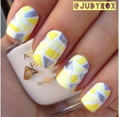 Yellow, White & Silver