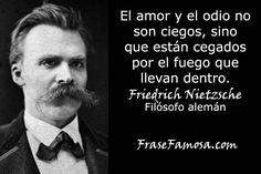 Frases de Friedrich Nietzsche - Frases de Amor - Frase Famosa