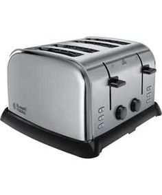 Russell Hobbs 21460 Stainless Steel 4 Slice Toaster.