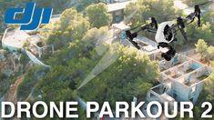 DRONE PARKOUR 2 - Cala D'en Serra Ibiza - 4K