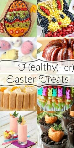 Everyone is always looking for healthier Easter recipes. There are other ways to. Everyone is always looking for healthier Easter recipes. There are other ways to have a delicious Easter treat witho Easter Snacks, Easter Appetizers, Easter Brunch, Easter Treats, Easter Recipes, Appetizer Recipes, Easter Food, Easter Desserts, Hoppy Easter