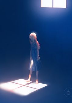 grafika girl, alone, and anime Art Anime Fille, Anime Art Girl, Manga Art, Manga Anime, Anime Girl Crying, Sad Anime Girl, Anime Girls, Art Triste, The Kingkiller Chronicles