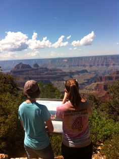 M&M at the Grand Canyon