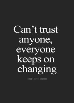 Can you really trust anyone