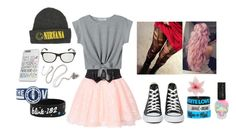 """""""Summer's coming"""" by kayla-horan51 ❤ liked on Polyvore featuring Luli and Converse"""