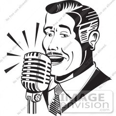 15+ Animated People Singing Clipart