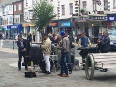 Buskers to entertain you while shopping in Cleveleys Seaside Towns, Great Places, Centre, Places To Visit, Coast, Shopping, Places Worth Visiting, Seaside