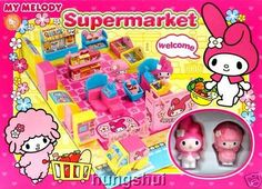 Sanrio Hello Kitty and Friends Mini Town My House Convenience Store Playground Series: My Melody Supermarket Playset Toy with Figures. Educational and Fun (You only get the Supermarket set as pictured, other sets not included) - Great Gifts! by Sanrio. $29.23. Supemarket only. Figures included!. Sanrio Hello Kitty and Friends Mini Town My House Convenience Store Playground Series: My Melody Supermarket Playset Toy with Figures. Educational and Fun (You only get ...