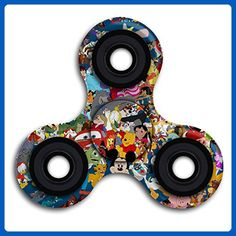 Gyroscope Home Disney Characters Easy To Take Spinner Fidget Hand Toys Triangle Fingertips Peg-top Toys Toy Game Whipping Top Scopperil Finger Tip For Fun And Stress Reduce - Fidget spinner (*Amazon Partner-Link)
