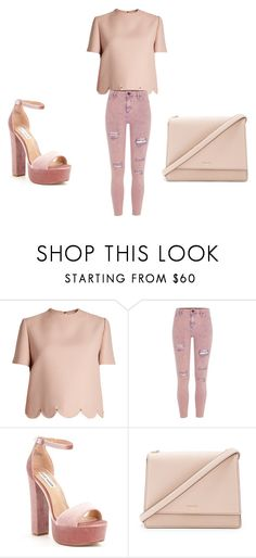 """""""kklove1"""" by explorer-14945089776 on Polyvore featuring Valentino, River Island, Steve Madden and Kate Spade"""