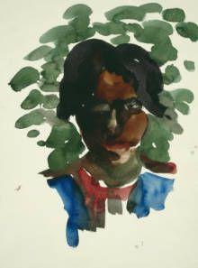 Georgia O'Keeffe, Untitled (Girl) 1916