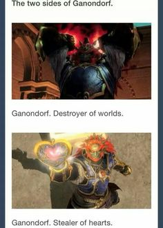 (Hyrule Warriors) Ganondorf, you sly dog...