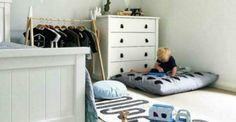 Ξεχάστε το Ροζ και το Γαλάζιο για το Βρεφικό Δωμάτιο: Αυτό το Χρώμα Είναι η Νέα Τάση Bunk Beds, Toddler Bed, Furniture, Home Decor, Jars, Child Bed, Decoration Home, Double Bunk Beds, Room Decor