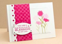 Peaceful Wishes; Cheerful Blessings; Distressed Background Blocks; Dotted Scallop Border Trio Die-namics; Designer Labels 4 STAX Die-namics; Rectangle STAX Set 1 Die-namics - Lisa Johnson