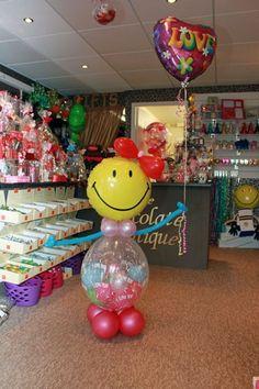 Valentines Balloons, Valentines For Kids, Birthday Balloons, Love Balloon, Balloon Gift, Air Balloon, Balloon Decorations, Baby Shower Decorations, Balloon Ideas