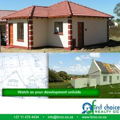 Tuscan Style development by First Choice Realty in ‪#‎Vanderbijlpark‬.  A variety of 2 and 3 bedroom plans that caters for the needs of the first time buyer to the extended family that needs more space. Visit our website: http://besociable.link/4g ‪#‎property‬ ‪#‎affordablehousing‬ ‪#‎FCRCC‬