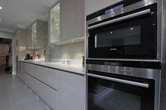 Integrated Siemens kitchen appliances
