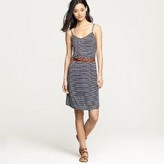 Simple Stripe Sun Dress