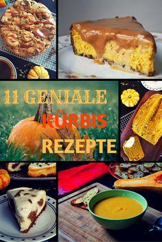11 geniale Kürbis Rezepte für den Herbst - Cinnamon&Coriander #kürbis…