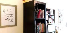 """La stampa """"Ridi, nessuno lo farà al posto tuo"""" a casa di Silvia //  L'affiche """"Ridi"""" chez Silvia #LettersLoveLife  #déco #maison #calligraphie #arredamento #casa #calligrafia #interiordecoration #decor #home #decoratingideas #calligraphy #poster"""