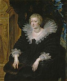 Anne d'Autriche (1601-1666) — Rubens 1622