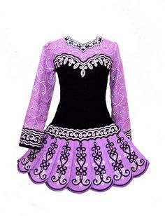 Things You need for Irish dance: Dress. I don't have a dress like this, girl use dresses like these if they are in competitions and stuff. My school does not do that, but we have our own team dresses