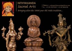 We Nithyananda Galleria is Sacred Arts Manufacturers & offer wide range of deities from small to big ones  View our Catalog At: http://www.nithyanandagalleria.com/catalogue/SacredArts.pdf