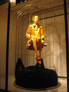 Moschino - London - Oct. 2012  via retailstorewindows.com