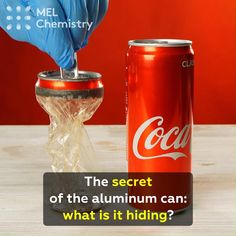The secret of the Cola can: what is it hiding? Science Projects For Kids, Science Crafts, Science For Kids, Science Activities, Activities For Kids, Science Project Topics, Science Videos, Science Party, Stem Projects