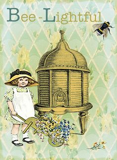Bee lightful by Jeweledfrogcreations, via Flickr