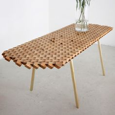 The Atlas Table with Vase | Sustainable Wood Gifts australianwoodwork.com.au