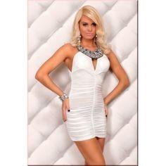 Beyaz Gece Elbisesi