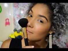 Sombra Marrom na Pele Negra!! - YouTube