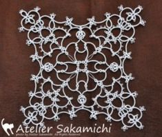 Risultati immagini per tatting by the bay free patterns Needle Tatting, Tatting Lace, Tatting Patterns, Sewing Patterns, Doilies, Yarn Crafts, Diy And Crafts, Teneriffe, Crochet Needles