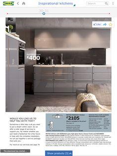 New kitchen ikea ringhult grey ideas Grey Ikea Kitchen, Ikea Metod Kitchen, Cocinas Kitchen, Grey Kitchens, New Kitchen, Kitchen Appliances, Ikea Ringhult, Ikea Cabinets, Kitchen Cabinet Doors