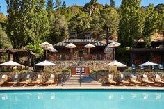 Pool Deck, Calistoga Ranch, Napa, California
