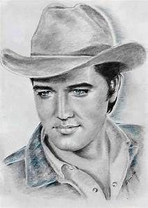 ELVIS art by Ewa Stepien: This is an amazing drawing of Elvis as Joe Lightcloud… Celebrity Drawings, Celebrity Portraits, Pop Art, Elvis Presley Photos, Cowboy Art, Rhythm And Blues, Graceland, Pencil Portrait, Tarzan