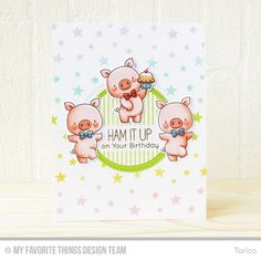 My Favorite Things HOG HEAVEN Clear Stamps BB35 Preview Image