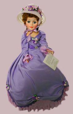 "agatha in lavender 21"", 1979 ~ madame alexander"