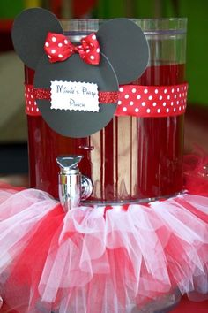 Minnie Mouse Birthday Party Food Ideas and Recipes