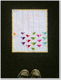 krista stitched: A mini