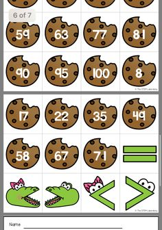 Gingerbread Cookies, Education, Math, Gingerbread Cupcakes, Math Resources, Teaching, Onderwijs, Mathematics, Learning