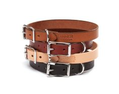 Leather Collar $60.00 from http://domesticbeast.com