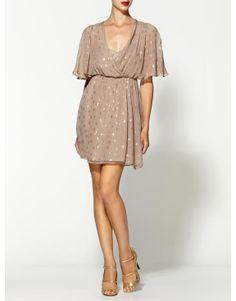 Aryn K. Sheer Sleeve Sparkle Dress  www.beso.com