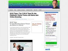 MLM Tipps | Top 3 MLM Tipps für das Etablieren Deiner Person als Marke dein Online Branding