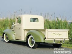 1941 Dodge Truck. Nice vintage colour combination