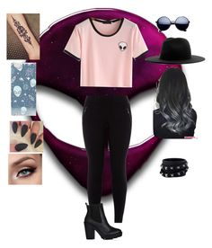 """""""Untitled #99"""" by evewalts16 ❤ liked on Polyvore featuring New Look, Études, ASOS and Valentino"""