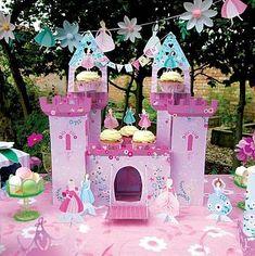 Princess Castle Party Centrepiece