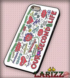 """Collage O2L for iPhone 4/4s, iPhone 5/5S/5C/6/6 , Samsung S3/S4/S5, Samsung Note 3/4 Case """"007"""""""