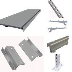 Silver shelving spare parts  Compatible with Tegometall shelving and Evolve shelving systems.  #metalshelving #retailshelving #shelvingspares #silvershelving